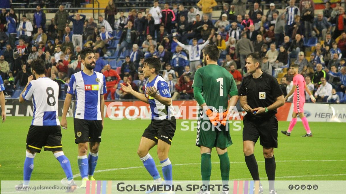 Hércules-Castellón (1-1) Fotos: J. A. Soler