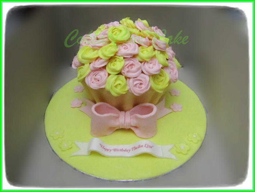 Giant Cupcake Thaiku Liza