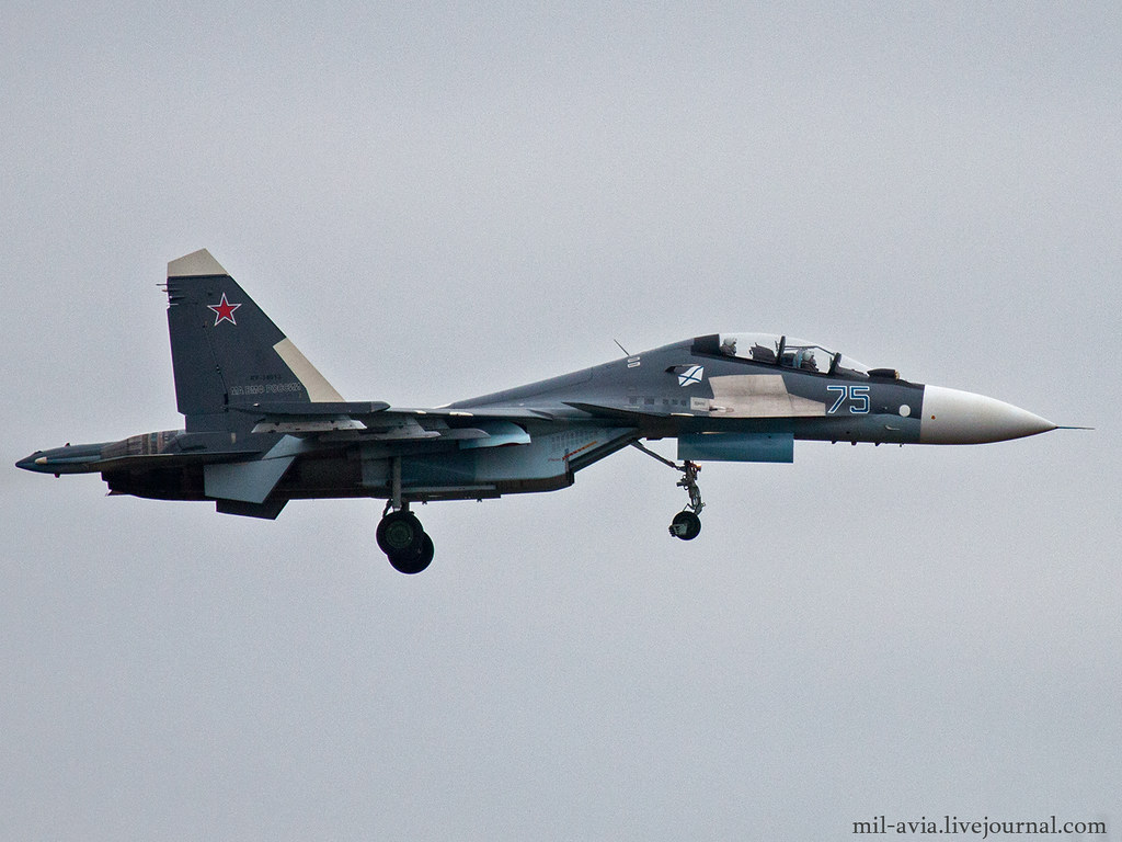 SU-30SM 75 BLUE