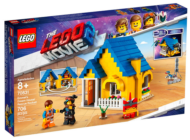 LEGO Movie 2 70831 Emmet's Dream House Rescue Rocket 01