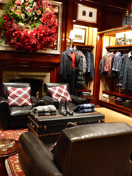 chez Ralph Lauren, London