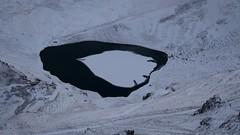 Lac d'Oncet à 18h45 mn
