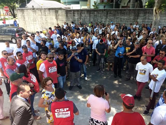 Ato em Defesa da Justi�a do Trabalho - S�o Jos� dos Campos - 28/01/2019