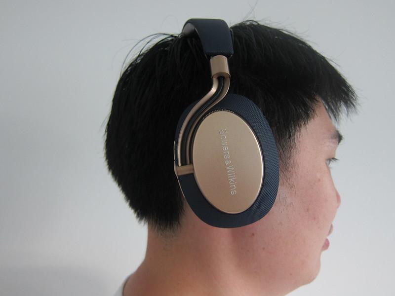 Bowers & Wilkins PX Headphones - Wearing