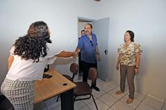 Prefeito Alexandre Kalil visita Centro Integrado de Atendimento à Mulher