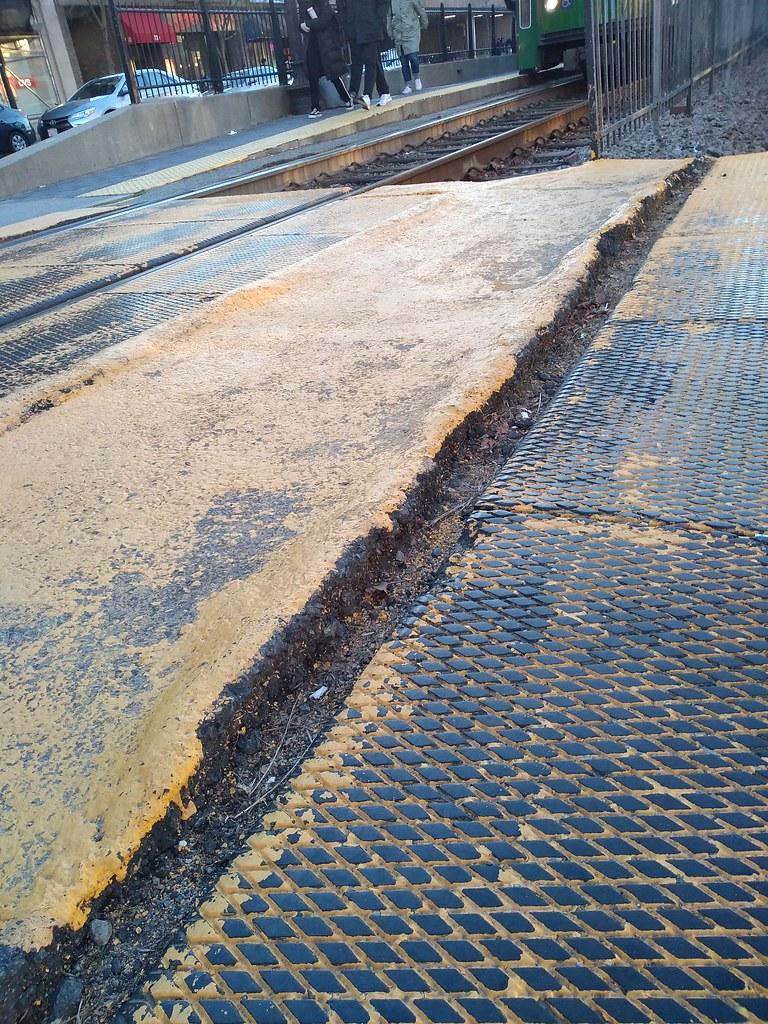 MBTA crosswalk