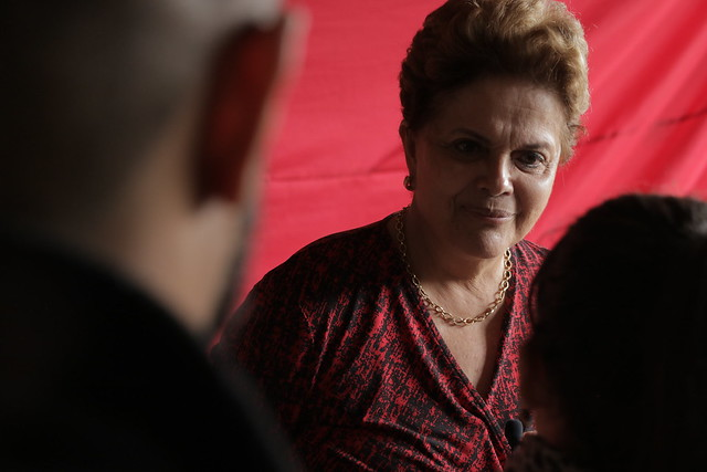 Dilma Rousseff concedeu entrevista ao Brasil de Fato no último final de semana - Créditos: Pedro Ribeiro Nogueira