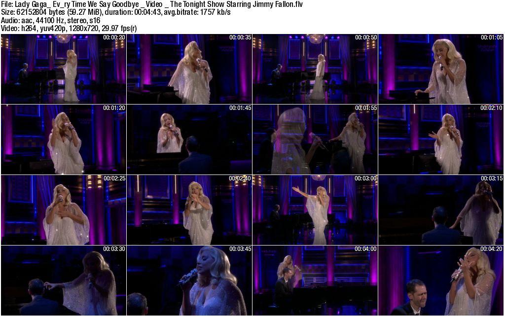 Gaga Every Time We Say Goodbye HD caps