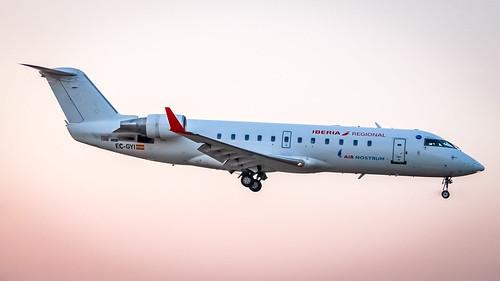 Bombardier CRJ-200ER EC-GYI Air Nostrum