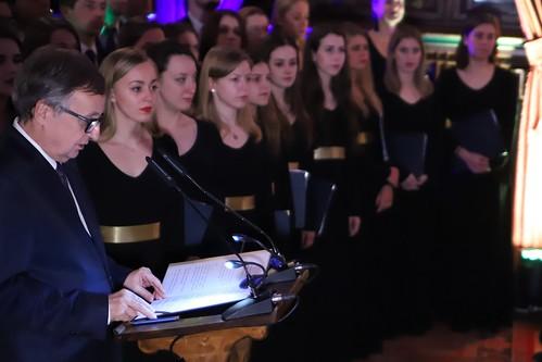 Opłatek środowisk akademickich Krakowa na UJ | Abp Marek Jędraszewski, 19.12.2018