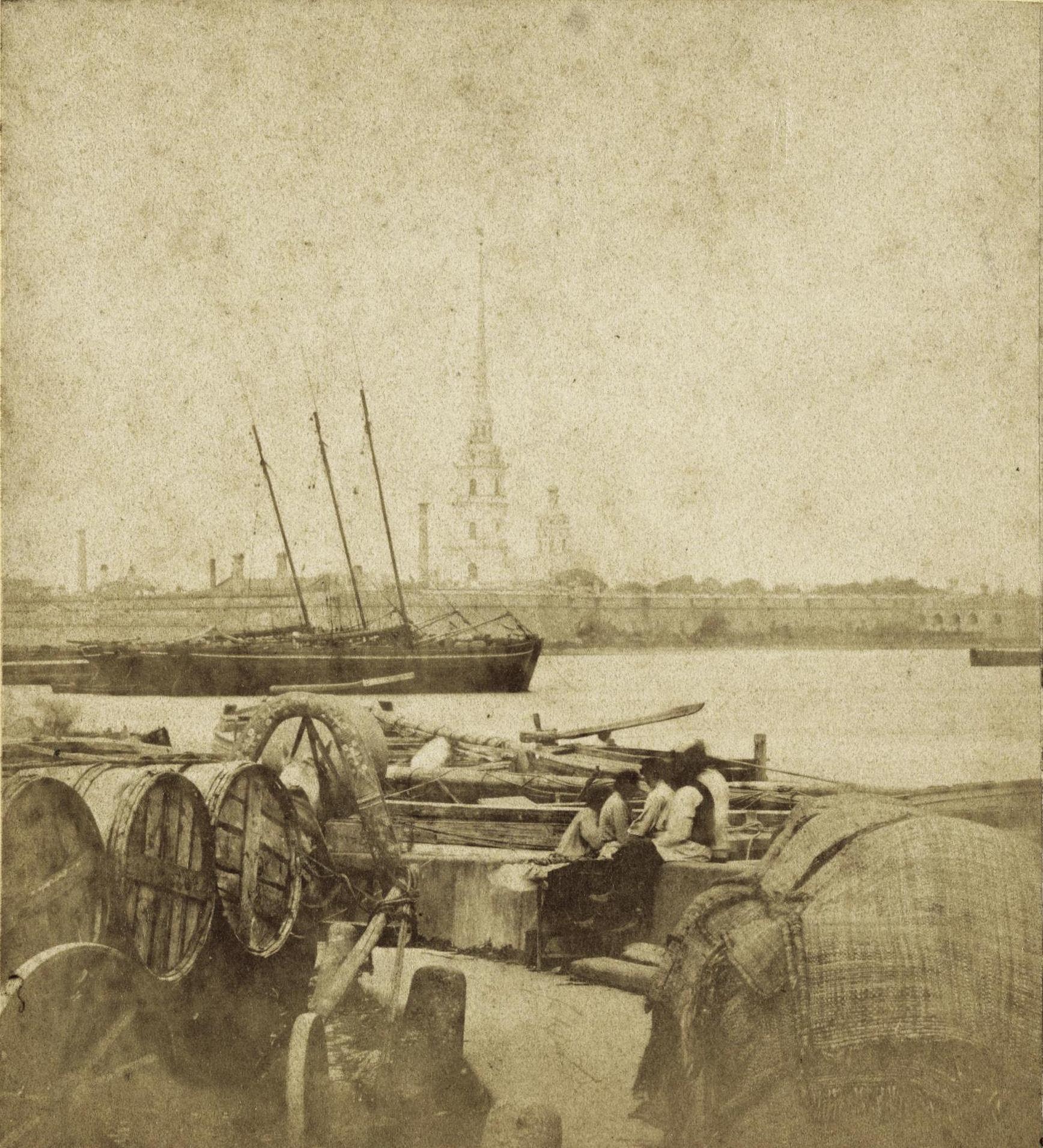 Петропавловская крепость со Стрелки ВО