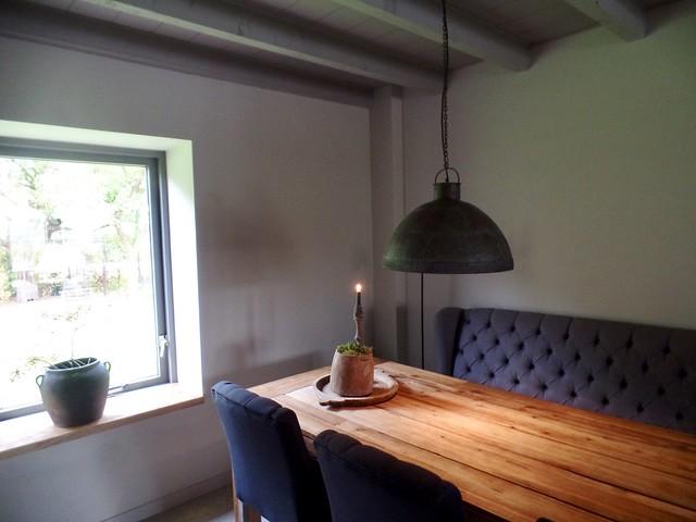 Eetkamerbank eettafel keuken landelijk