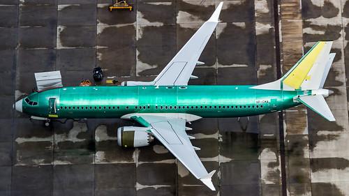 Boeing 737-8 BBJ MAX VP-CMA Brilliant Aviation
