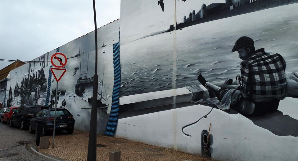 Street art Algarve, Portugal: street art Olhão | Mooistestedentrips.nl