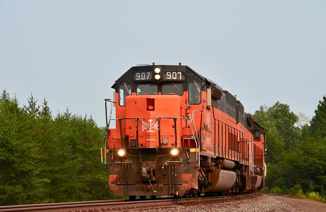B&LE SD40-3 907