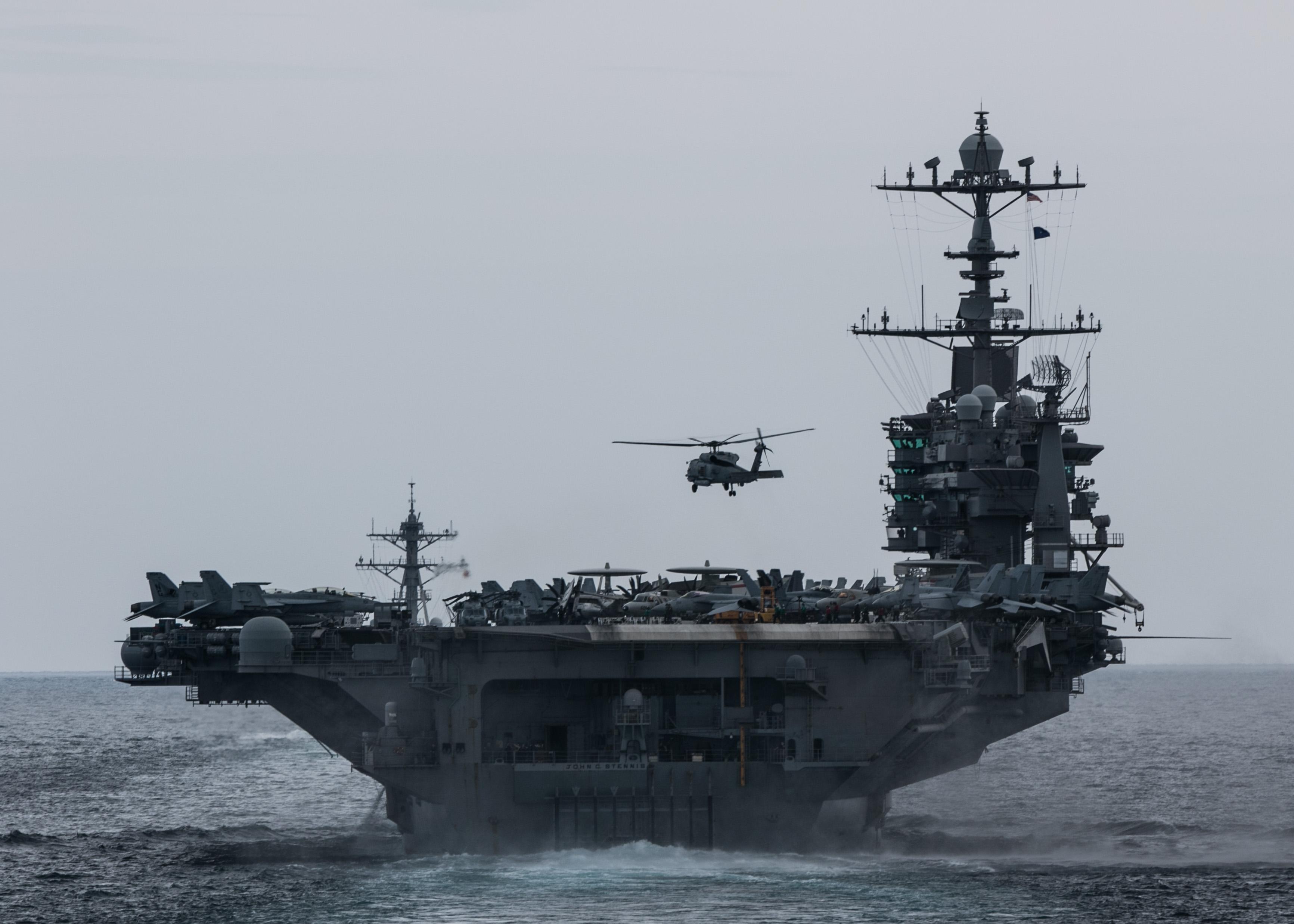 CV & CVN : Aircraft Carriers - Porte-avions - Page 27 46956621622_c5f47f9b2a_o