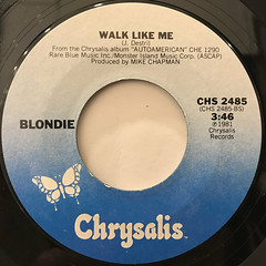 BLONDIE:RAPTURE(LABEL SIDE-B)