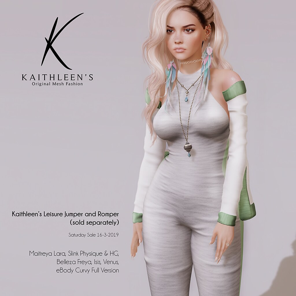 Kaithleen's Saturday Sale Leisure Romper and Jumper in Grey