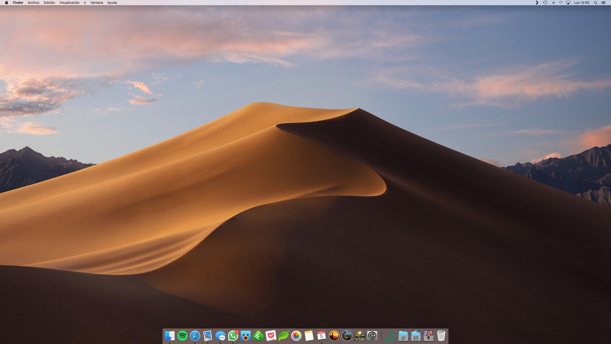 Wall november: Mojave