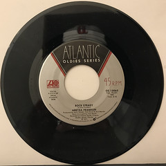 ARETHA FRANKLIN:ROCK STEADY(RECORD SIDE-A)