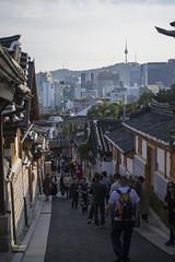 Bukchon Hanok Village. Seoul, South Korea