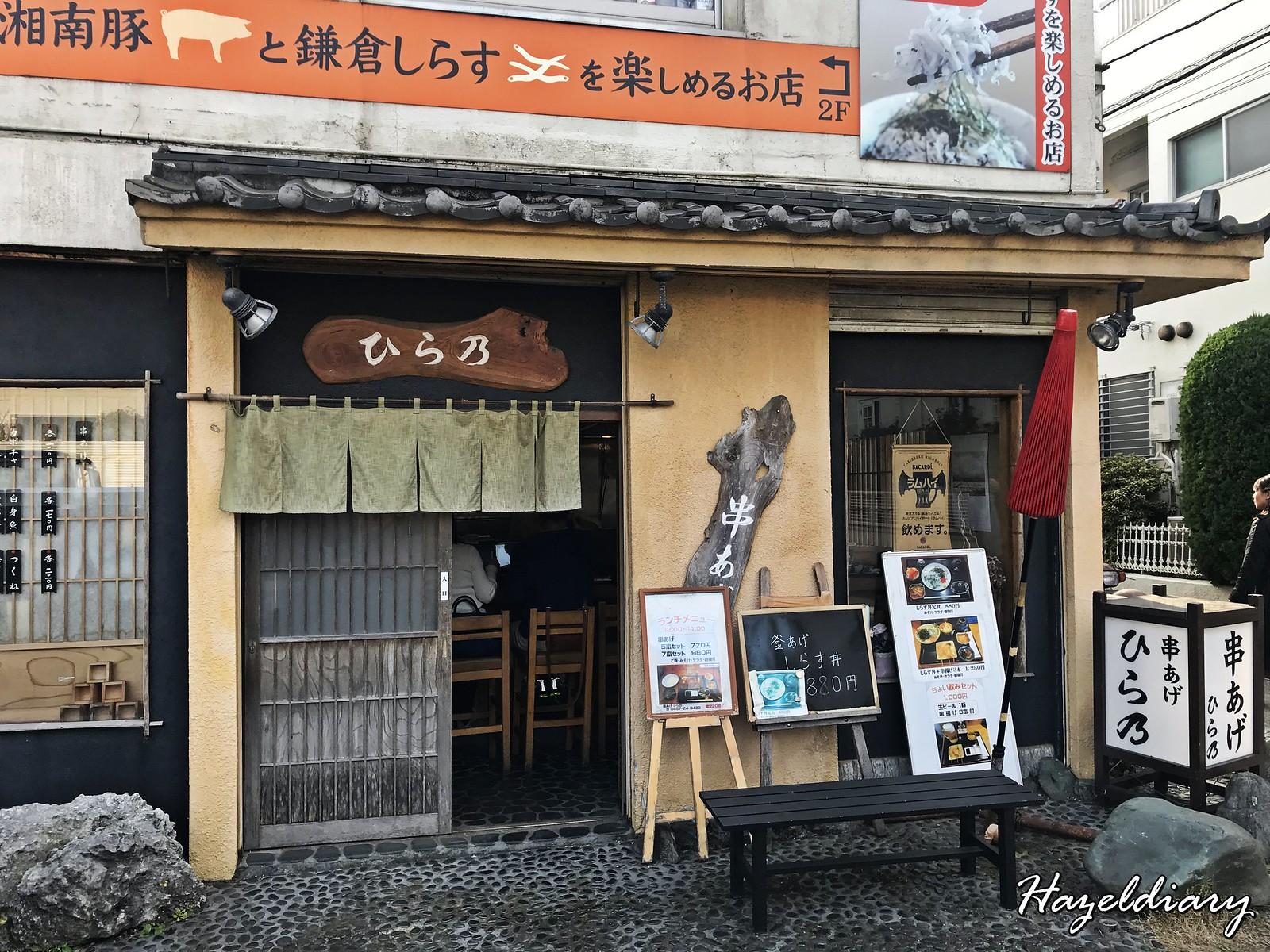 Kamakura Komachi-dori Street-Shirasu don-1