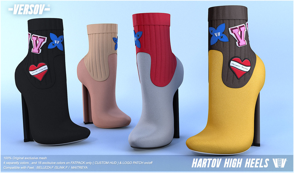 [ Versov // ] Hartov heels available at Kustom9 - TeleportHub.com Live!