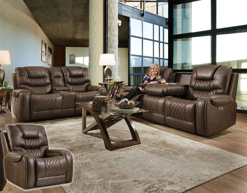 Baileys Desert Chocolate Reclining Sofa & Loveseat Set_88801_IMG