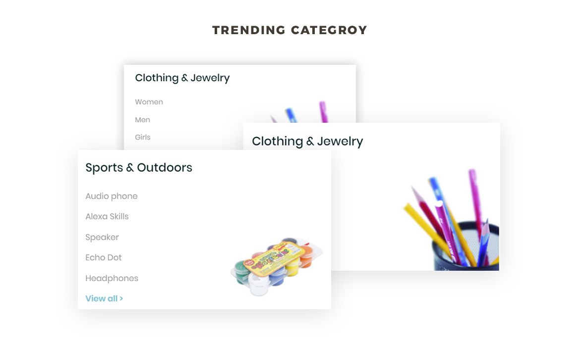 trending category - Leo Neons - Stationery Prestashop theme