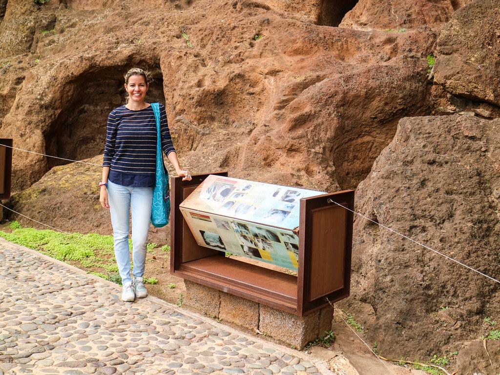 Espacio arqueológico en Gran Canaria