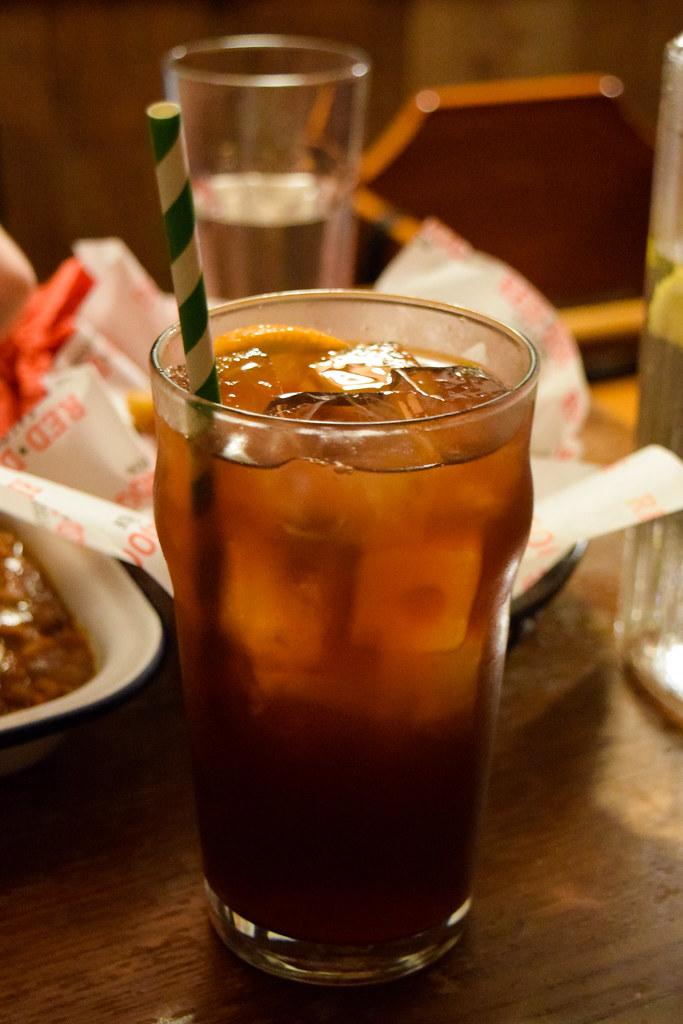 Sweet Iced Tea at Red Dog Saloon, Soho