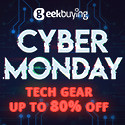 Cyber Monday Deals Week, Up to 80% Off @ GeekBuying