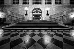 Napoli, palazzo reale, scalone d'onore