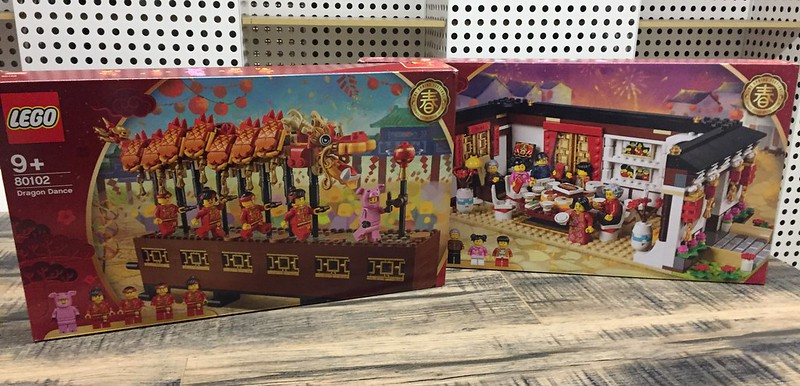 LEGO Chinese New Year's Eve Dinner (80101) & LEGO Dragon Dance (80102)