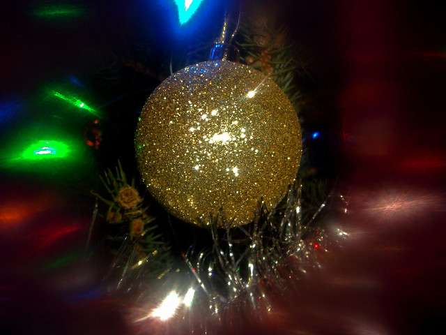 Christmas blur, Fujifilm FinePix AX300