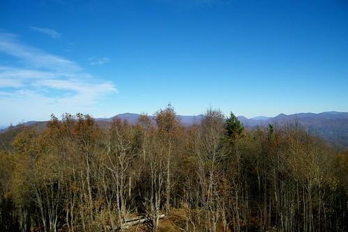 rich mountain fire lookout tower pisgah appalachian