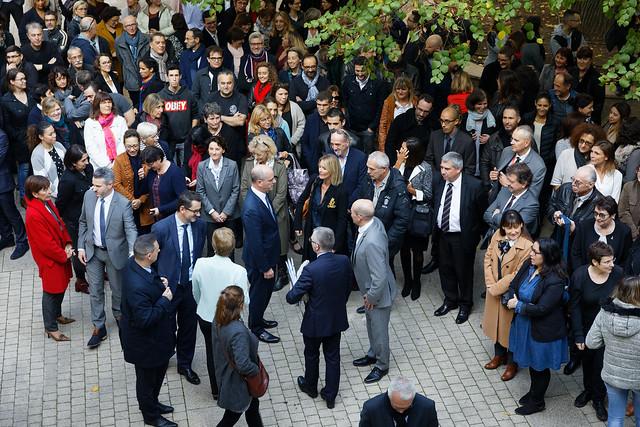 Visite de Jean-Michel Blanquer au rectorat de Montpellier
