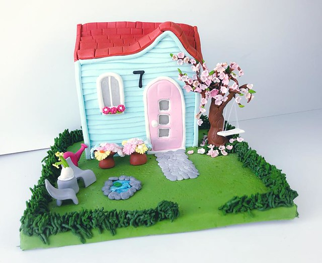 Spring Summer Cake from Design Cake by Fatu
