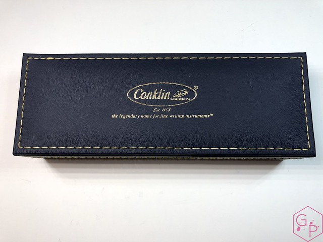 Conklin Empire Stardust Blue Fountain Pen with OmniFlex Nib 4