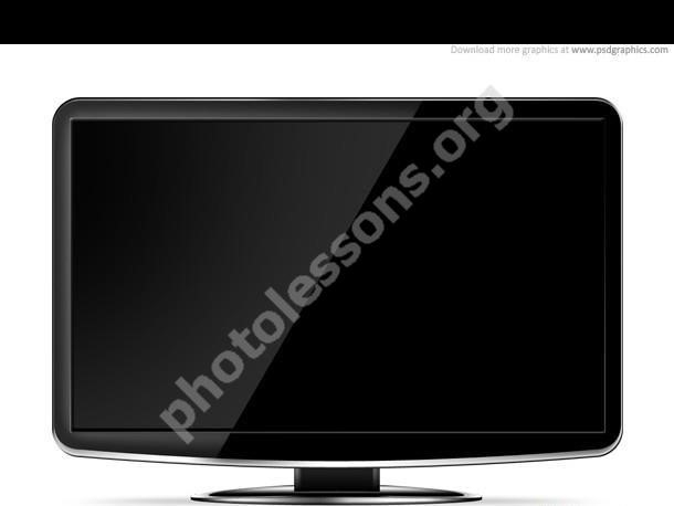 LCD HD телевизор