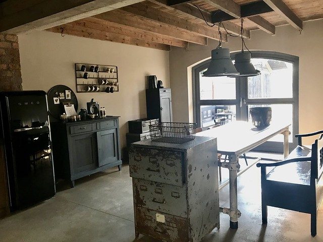 Archiefkast SMEG koelkast stoere keuken