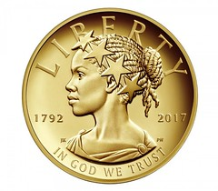 2017 American Liberty 225th anniversary gold coin