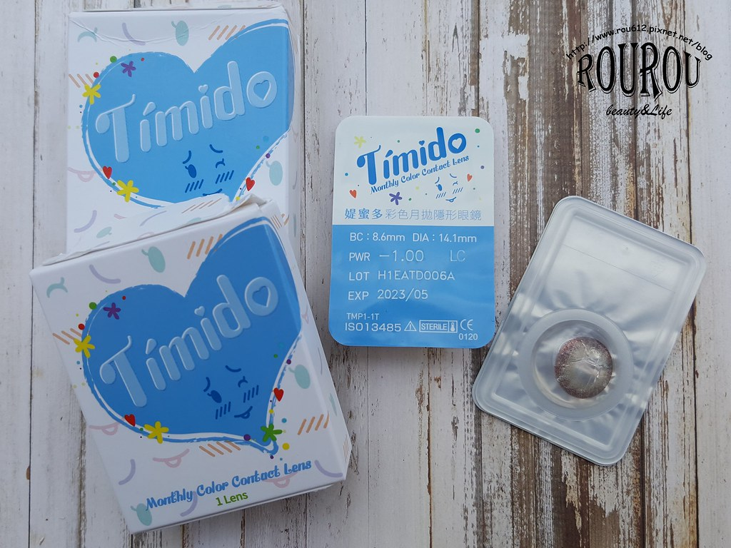 Timido媞蜜多彩色隱形眼鏡8