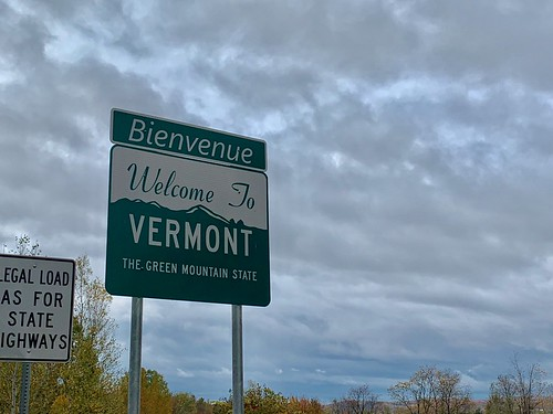 autumn fall travel vacation vermont signage
