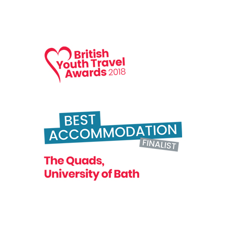 Silver Award for Best Accommodation at the British Youth Travel Awards