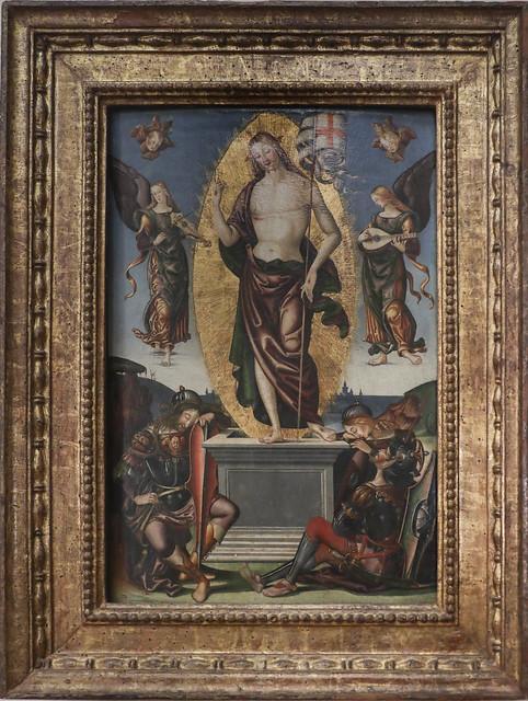 Resurrezione, Benardino di Mariotto, Perugia 1478-1566