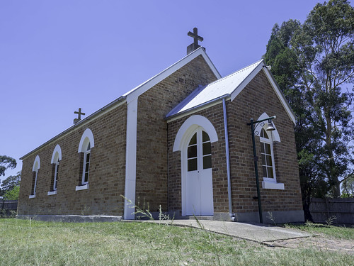 St Mark's Anglican Church, Bulga NSW - see below