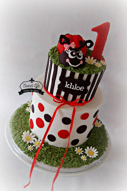 Lady Bug Cake from Sweet Life - Cakes by Liana