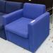 Blue meeting chair E65