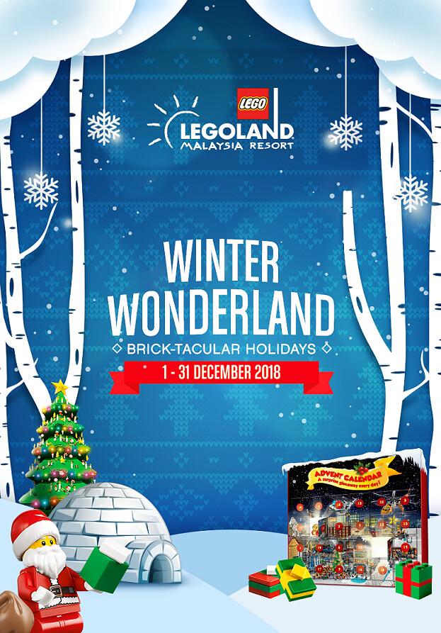 Legoland® Malaysia Resort Brick-Tacular 2018 (Verticle)